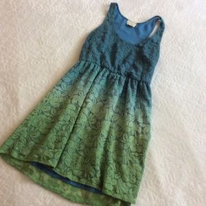 UO Pins and Needles ombré dress